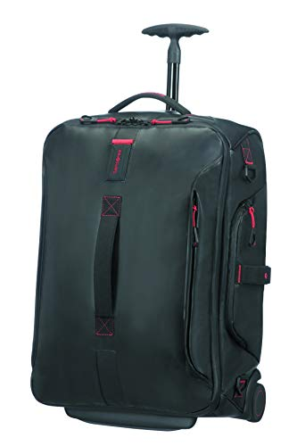 Samsonite Paradiver Light Duffle with Wheels Backpack 55 cm, 51 L, Black from Samsonite