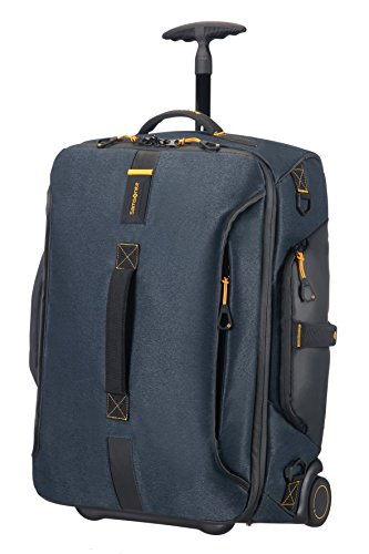 Samsonite Paradiver Light Duffle Backpack with wheels, 55 cm, 51 L, Jeans Blue from Samsonite