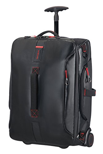Samsonite Paradiver Light Duffle with wheels Strictcabine, 55 cm, 48,5 L, Black from Samsonite