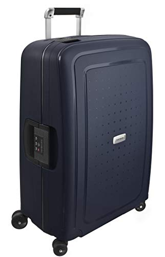 Samsonite S'Cure Dlx Spinner 69/25 Suitcases, 69 cm, 79 L, Blue (Blue) from Samsonite