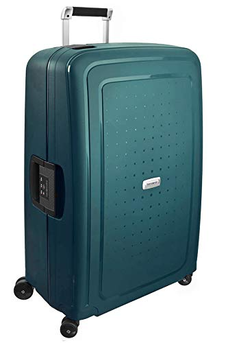 Samsonite  S'cure DLX Spinner, L (75cm-102L) - METALLIC GREEN from Samsonite