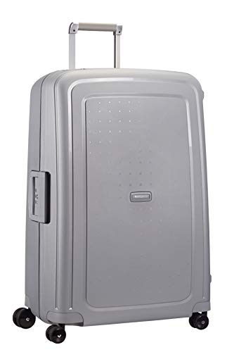 Samsonite S'Cure - Spinner L Suitcase, 75 cm, 102 Litre, Silver from Samsonite