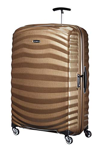 Samsonite Lite-Shock - Spinner XL Suitcase, 81 cm, 124 Litre, Brown (Sand) from Samsonite