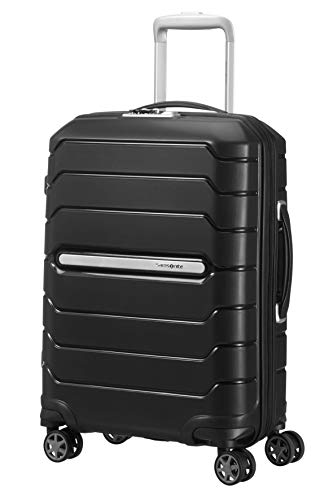 Samsonite Flux - Spinner S Expandable Hand Luggage, 55 cm, 44 L, Black from Samsonite