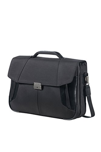 "SAMSONITE Briefcase 2 Gussets 15.6"" (Black) -XBR Briefcase, 48 cm, Black from Samsonite"