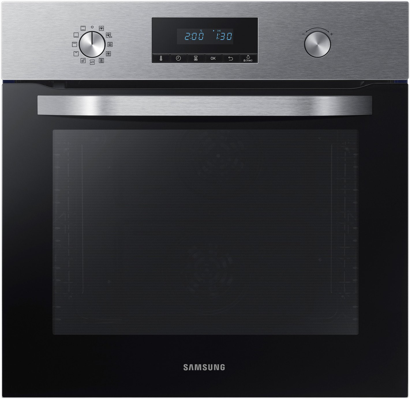 Samsung NV70K3370BS Built In Single Electric Oven - S/Steel from Samsung Electronics UK