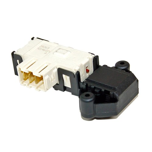Door lock switch for Samsung washing machine, compatible with DC64-00653A. from Samsung