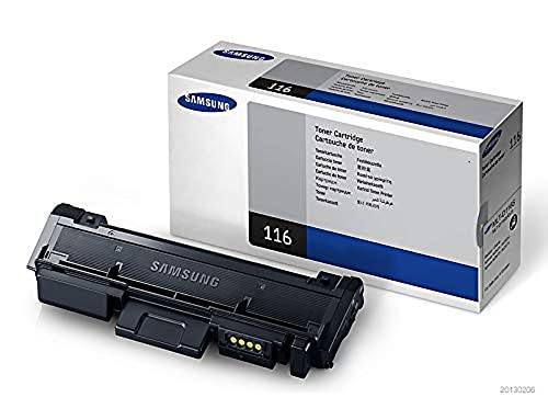 Samsung MLT-D116S/ELS Black Toner Standard Yield - 1.2k - (Consumables > Ink and Toner Cartridges) from Samsung