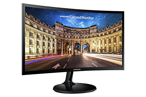 Samsung C24F390 24-Inch Curved LED Monitor - HDMI, VGA , Black from Samsung