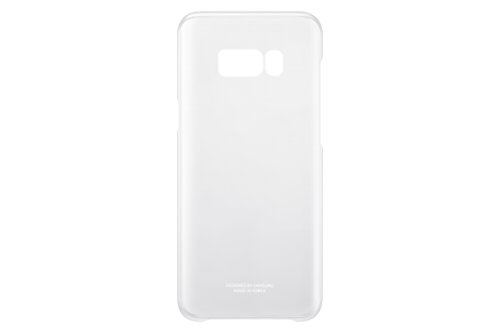 Samsung Original S8 Plus Clear Phone Case Cover - Silver/Clear,EF-QG955CSEG from Samsung