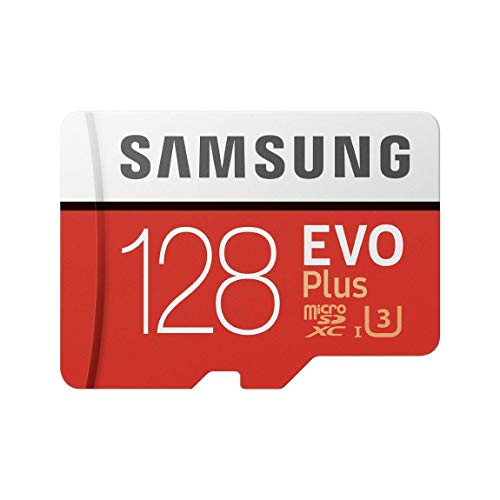Samsung Mobile UK 128 GB 100 MB/s Class 10 U3 Memory Evo Plus MicroSD card with Adapter from Samsung Mobile UK