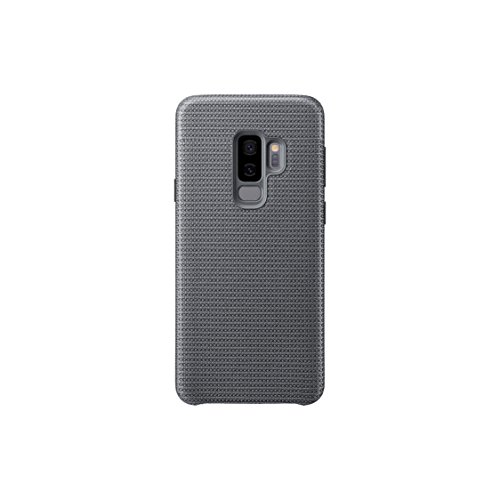 Samsung Hyperknit Qi Charging Compatible Cover Case for Galaxy S9 Plus - Grey,EF-GG965FJEGWW from Samsung