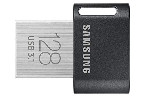 Samsung FIT Plus 128 GB Type-A 300 MB/s USB 3.1 Flash Drive (MUF-128AB) from Samsung