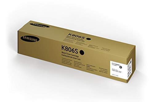 Samsung SS593A CLT-K806S Toner Cartridge, Black, Pack of 1 from Samsung