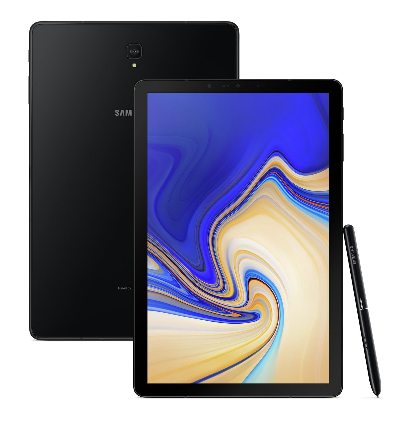 Samsung Tab S4 10.5 Inch 4G LTE Tablet - Black from Samsung