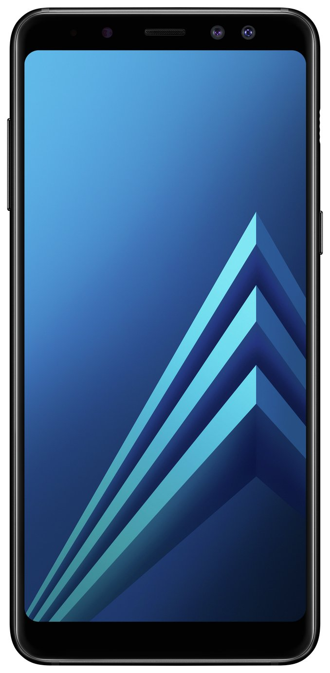 Sim Free Samsung Galaxy A8 Mobile Phone - Black from Samsung