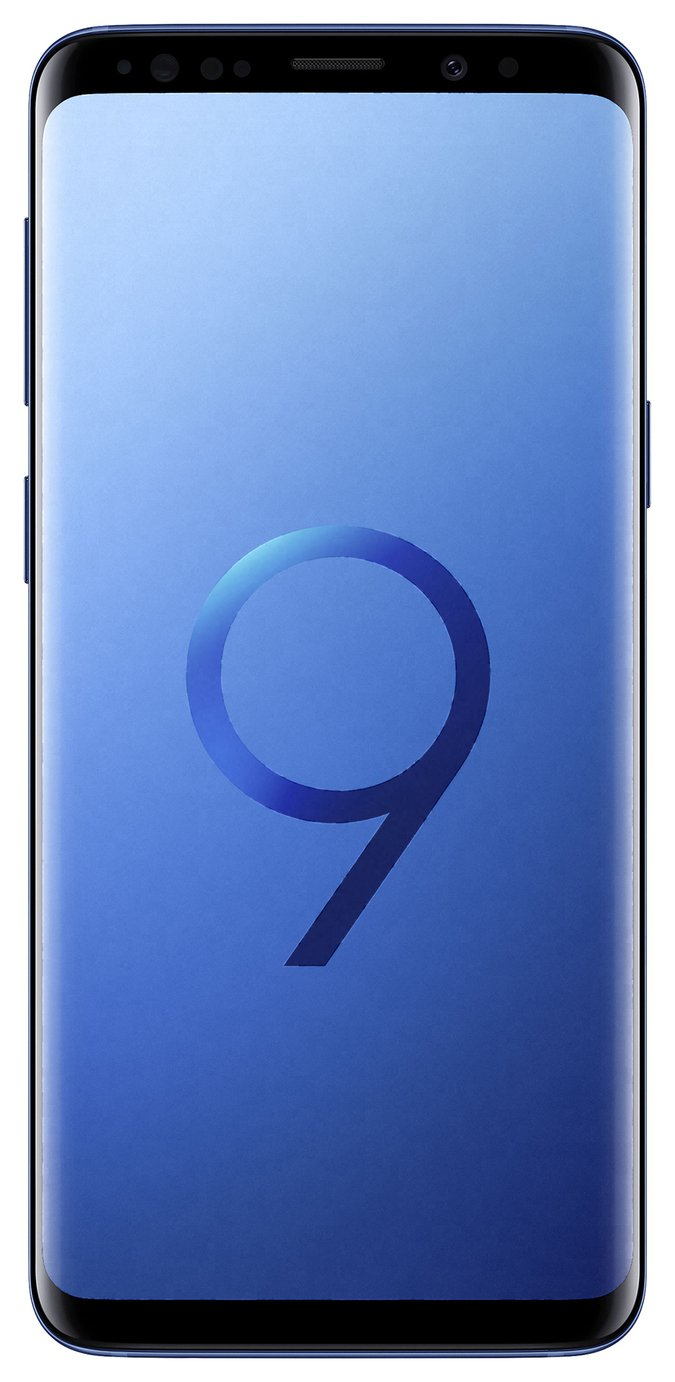 Sim Free Samsung Galaxy S9 64GB Mobile Phone - Coral Blue from Samsung