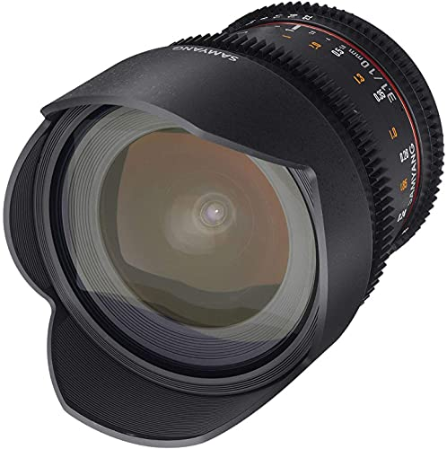 Samyang 10 mm T3.1 VDSLR II Manual Focus Video Lens for Canon DSLR Camera from SAMYANG