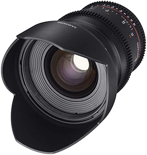 Samyang 24 mm T1.5 VDSLR II Manual Focus Video Lens for Micro Four Thirds Camera from Samyang