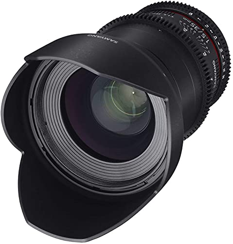 Samyang 35 mm T1.5 VDSLR II Manual Focus Video Lens for Canon DSLR Camera from Samyang