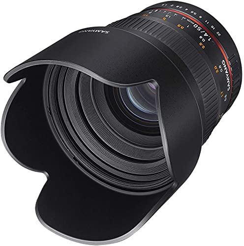 Samyang 50 mm F1.4 Manual Focus Lens for Canon from SAMYANG