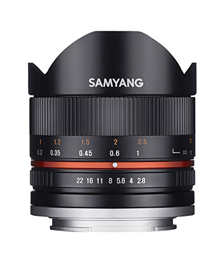 Samyang 8 mm F2.8 II Fisheye Manual Focus Lens for Sony-E - Black from Samyang