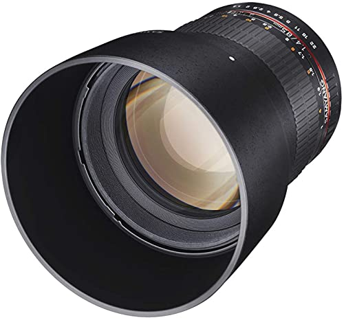 Samyang 85 mm F1.4 Manual Focus Lens for Pentax from Samyang