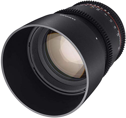 Samyang 85 mm T1.5 VDSLR II Manual Focus Video Lens for Micro Four Thirds Camera from Samyang
