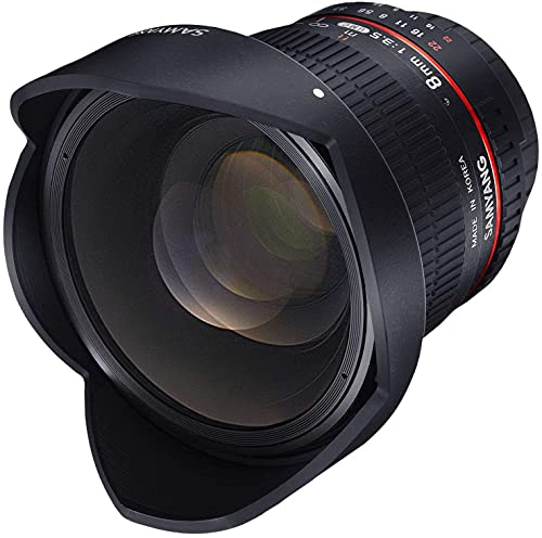 Samyang 8 mm F3.5 Fisheye Manual Focus Lens for Nikon-AE from Samyang