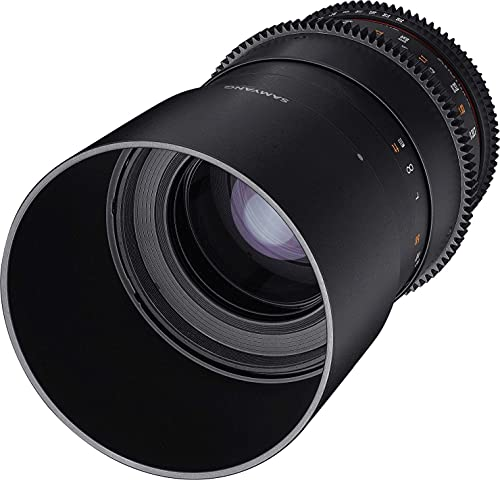 Samyang Lens for Canon T3.1 100 mm Black from Samyang