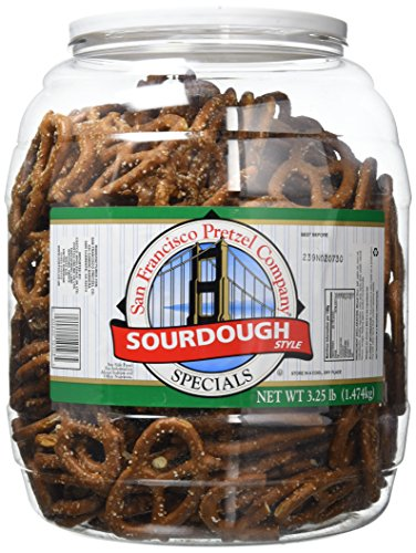 San Francisco Sourdough Pretzels 1.47kg Jar from San Fransisco Pretzel Company