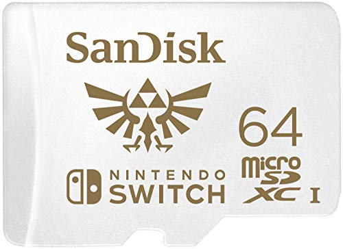 SanDisk microSDXC UHS-I card for Nintendo Switch 64GB - Nintendo licensed Product from SanDisk