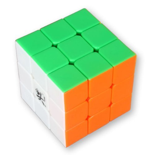Dayan GuHong 3x3x3 Speed Cube 6-Color Stickerless Magic Cube from SanWay