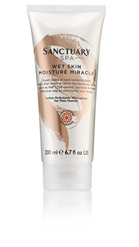 Sanctuary Spa Body Lotion Wet Skin Moisture Miracle and Body Moisturiser, 200 ml from Sanctuary Spa