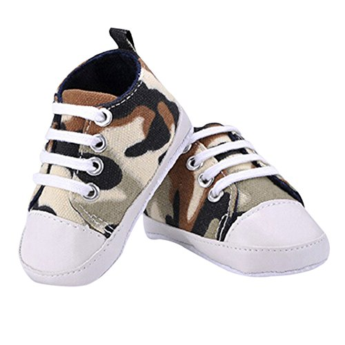 Sanwood® Baby Kids Boys Girls Toddler Canvas Shoes (11cm, Camouflage) from Sanwood