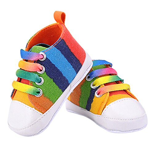 Sanwood® Baby Kids Boys Girls Toddler Canvas Shoes (11cm, Seven Colours) from Sanwood