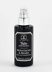 Taylors Moustache & Beard Leave-in Conditioner 100ml Traditional Male Grooming with a modern twist from Sarome UK