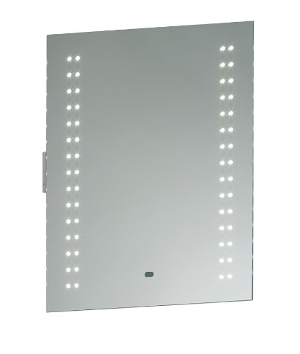 Saxby Perle 2W LED Bathroom Motion Sensor IR Mirror Light with Shaver Socket from Saxby