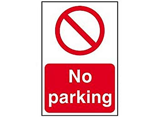 Scan 0605 200 x 300mm PVC No Parking Sign from Scan 3XS