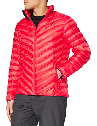 Schöffel Men's Thermo Val D Isere 2 Down Jacket, Flame Scarlet, Size 56 from Schöffel