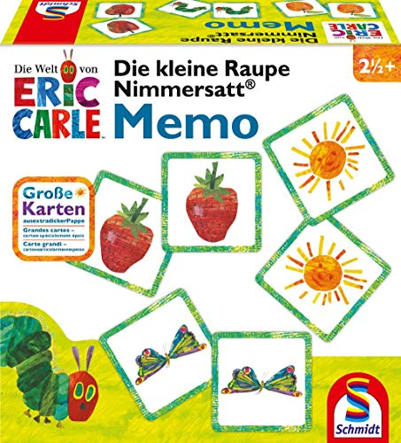 "Schmidt Spiele 40455 ""The Very Hungry Caterpillar Memory Game from Schmidt Spiele"