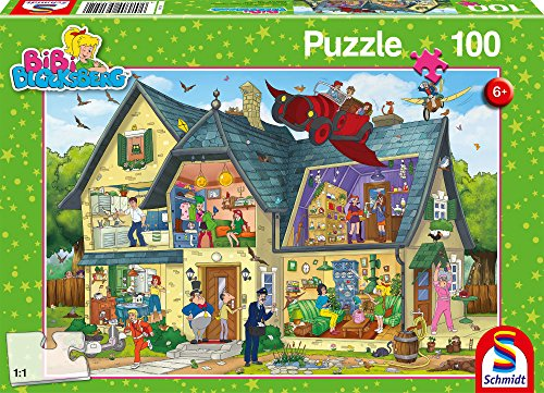 "Schmidt Spiele 56151 ""Bibi Blocksberg - At Blockbergs is something going on Puzzle (100-Piece) from Schmidt Spiele"