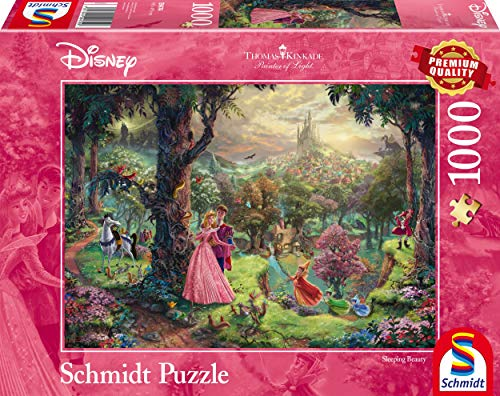 Schmidt Spiele 59474 Disney Sleeping Beauty Jigsaw Puzzle 1000 Pieces, Multicolour from Schmidt Spiele