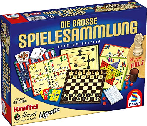 "Schmidt Spiele 49125 ""The big Game collection Family Game from Schmidt Spiele"