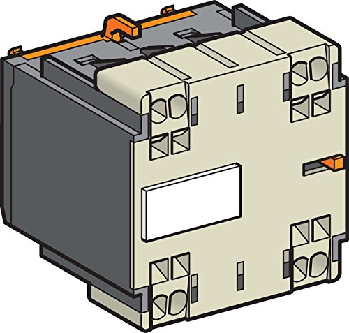 Schneider Electric LA1KN203 Auxiliary Contact Block, Aux Contact 2N/O from Schneider Electric