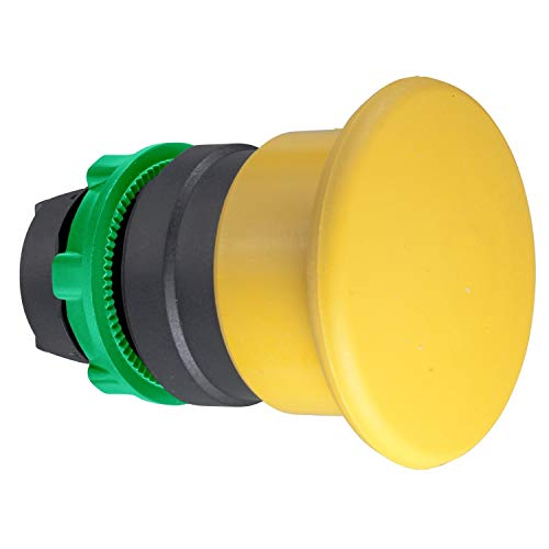 Schneider Electric ZB5AC5 Mushroom Pushbutton 40mm Dia, Mushroom 40Mm Spring Ret Yel from Schneider Electric