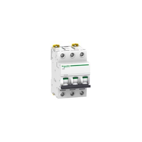 Schneider Electric a9 °F78340 magneto-thermic Switch ic60 N, 3P, 40 A, B Curve from Schneider Electric