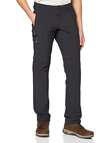 Schöffel Koper Men's Zip-Off Trousers, Men, Pants Koper Zip Off, Black, 58 (EU) from Schöffel