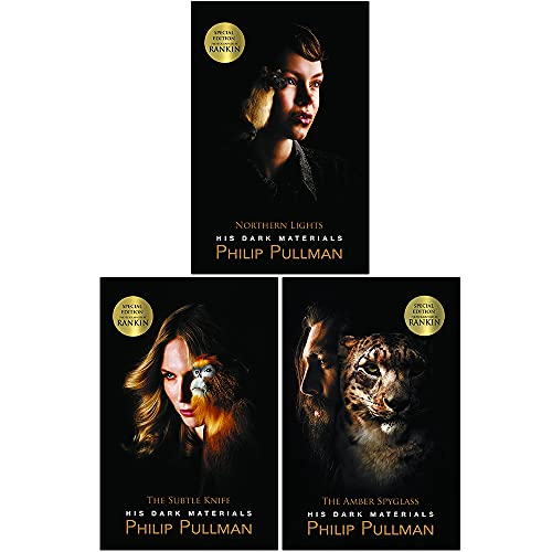 Philip Pullman His dark materials Trilogy 3 books Set Pack RRP 21.97 (Northern Lights, The Subtle Knife, The Amber Spyglass)(Philip Pullman Collection) from Scholastic
