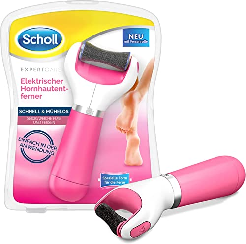 Scholl Velvet Smooth Pedi Electric Foot File Hard Skin Remover, Pink from Scholl
